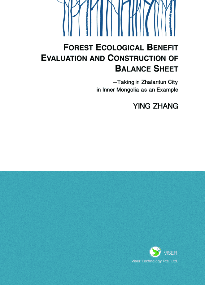 FOREST ECOLOGICAL BENEFIT EVALUATION AND CONSTRUCT